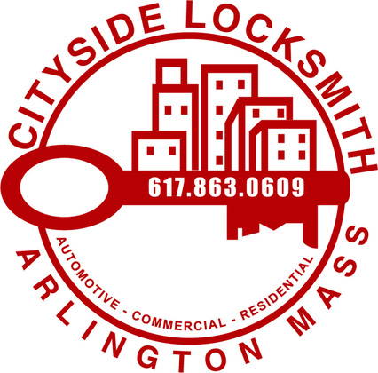 Cityside Locksmith Logo Arlington, MA